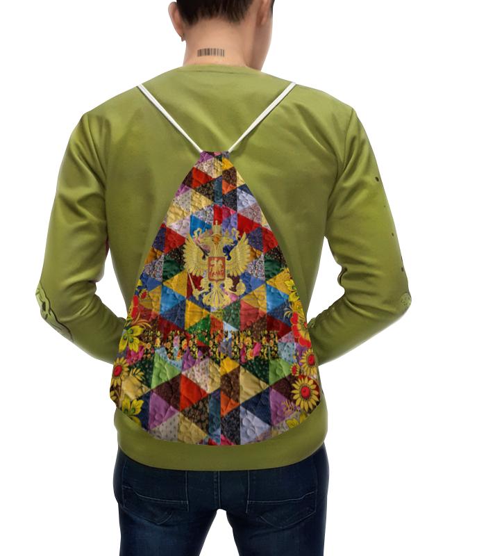 Рюкзак с полной запечаткой Printio Русский стиль вышивка русский стиль бабочка с пяльцами