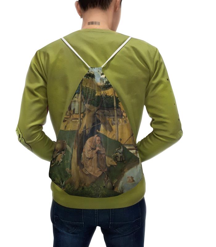 Рюкзак с полной запечаткой Printio Искушение святого антония (картина босха) искушение ирландца
