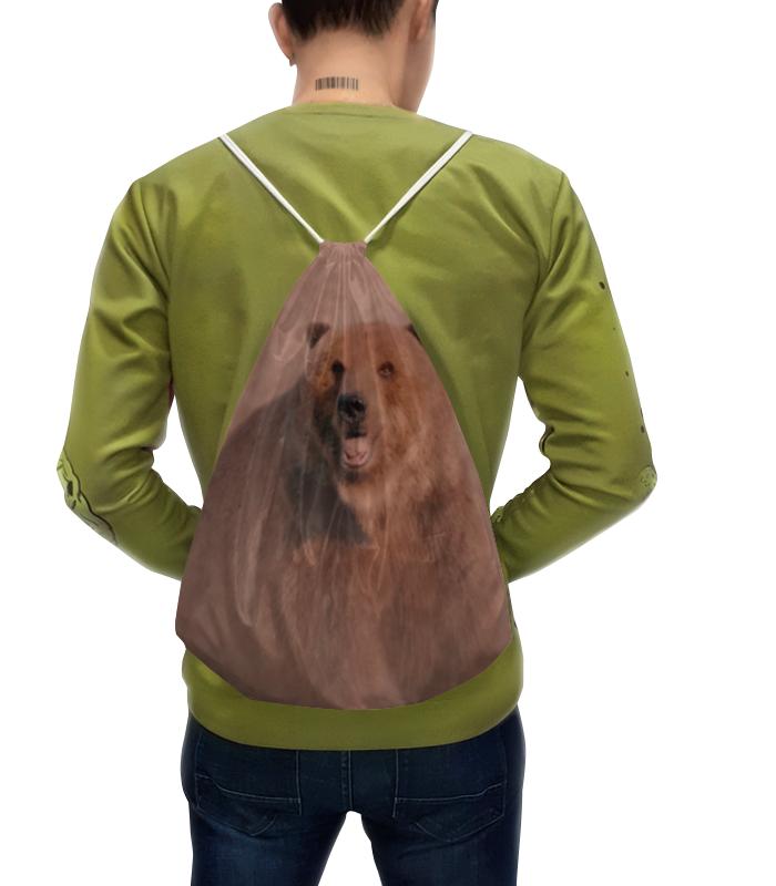 Рюкзак с полной запечаткой Printio Медведь рюкзак с полной запечаткой printio искушение христа василий суриков