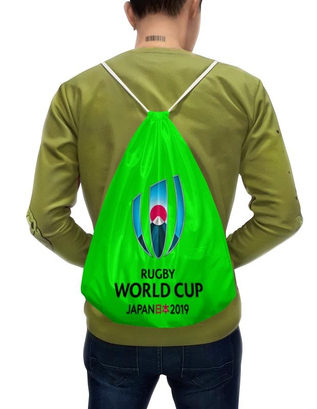 Рюкзак-мешок с полной запечаткой Printio Кубок мира по регби в японии чемпионат мира по регби 2019 африка 1 победитель утешительного турнира