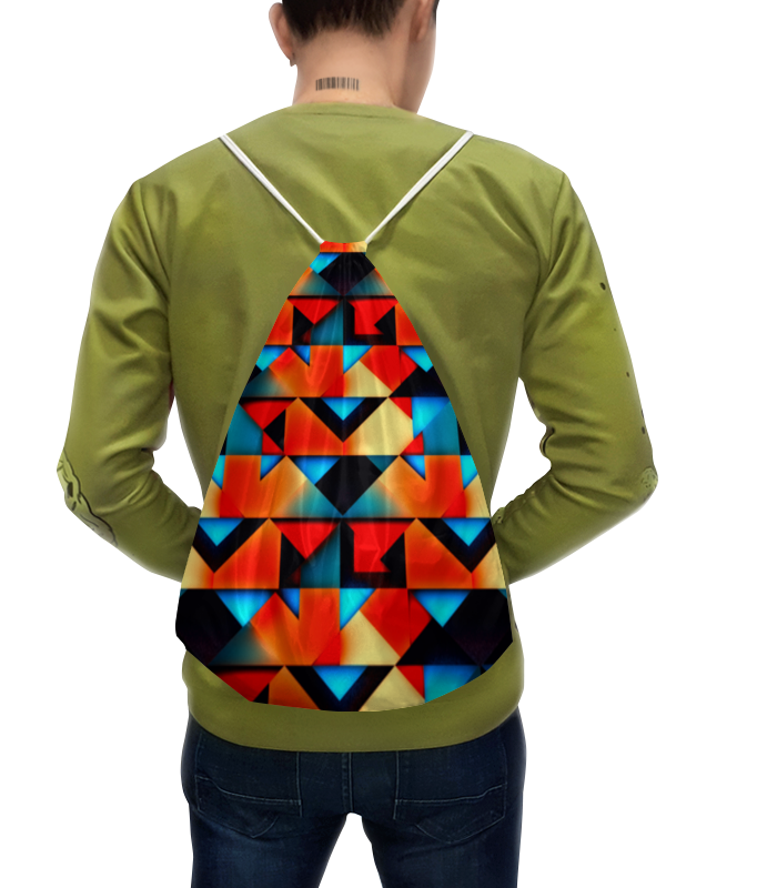 Рюкзак с полной запечаткой Printio Геометрческе фгуры