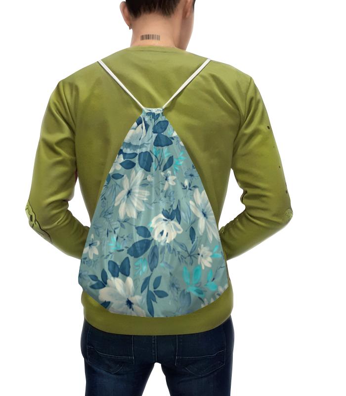 Рюкзак с полной запечаткой Printio Цветы. акварель чехол для ноутбука 14 printio цветы акварель