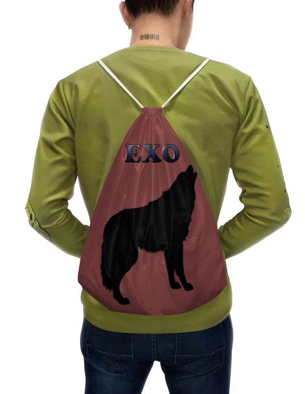 Printio Exo (wolf) красный цена и фото