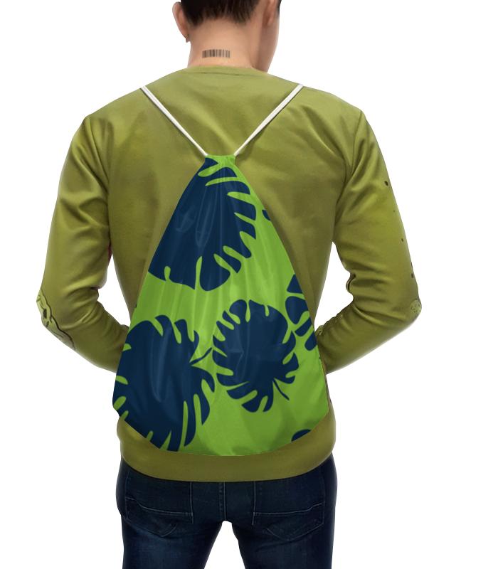 Рюкзак с полной запечаткой Printio Тропические листья рюкзак с полной запечаткой printio пейсли яркий