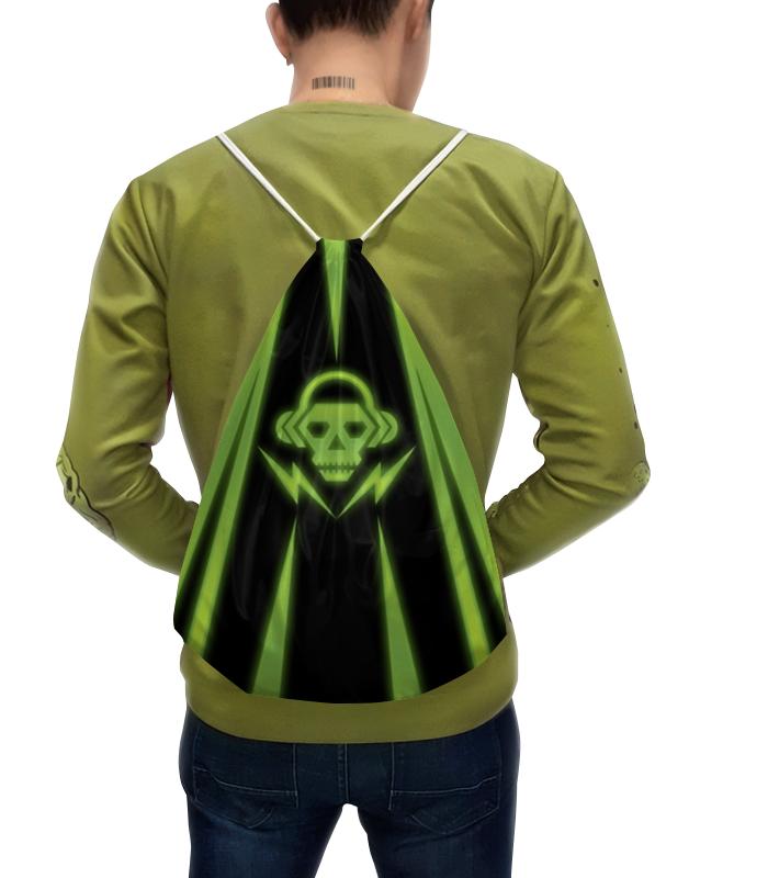 Рюкзак с полной запечаткой Printio Skull fashionable punk style skull pendant necklace