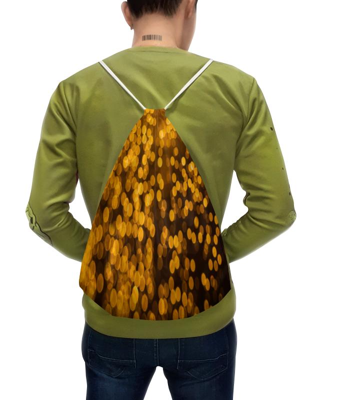 Рюкзак-мешок с полной запечаткой Printio Золотой рюкзак с полной запечаткой printio золотой
