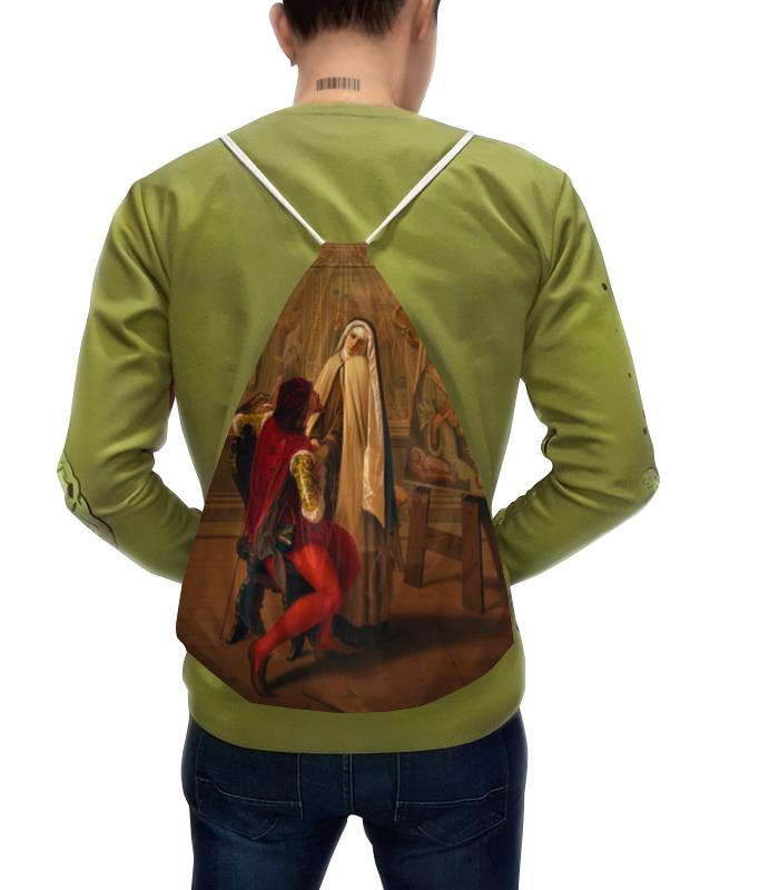 Рюкзак с полной запечаткой Printio Любовь или долг (габриель кастаньола)