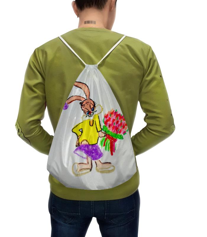 Рюкзак с полной запечаткой Printio Зайка рюкзак с полной запечаткой printio акварельный букет