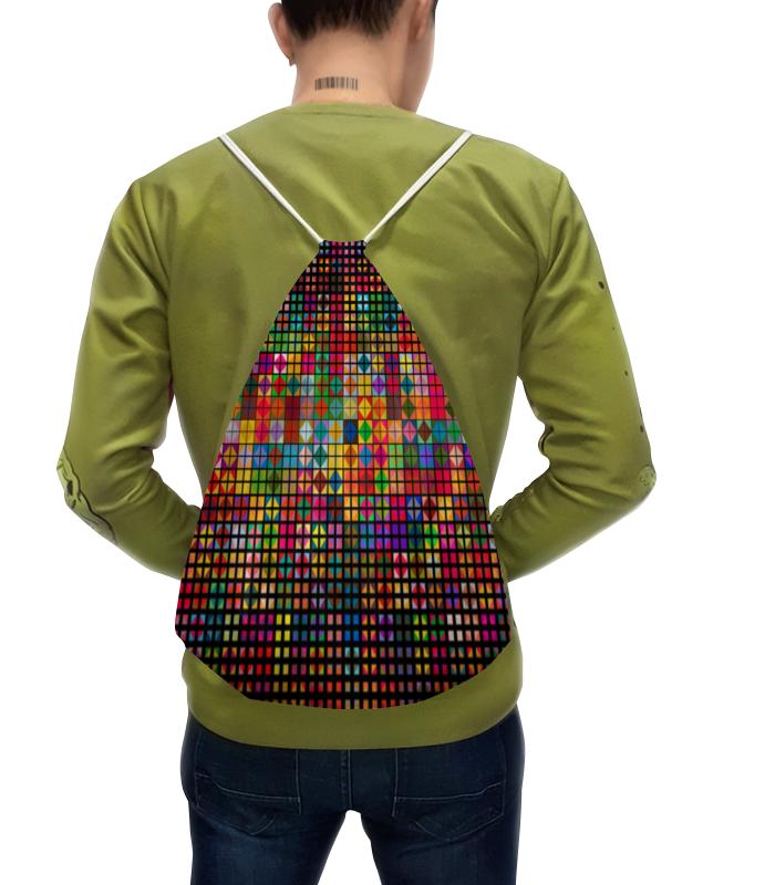 Рюкзак с полной запечаткой Printio Яркая мозаика рюкзак с полной запечаткой printio 3vvu jj87