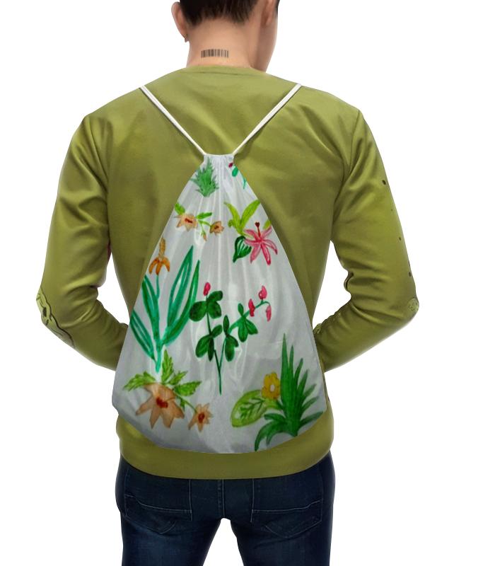 Рюкзак с полной запечаткой Printio Ботаника рюкзак с полной запечаткой printio цветы тропиков