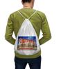 "Рюкзак с полной запечаткой ""Сносу нет!"" - москва, снос, пятиэтажки"