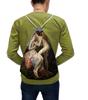 """Рюкзак-мешок с полной запечаткой """"Амур и Психея (Франсуа Жерар)"""" - картина, поцелуй, жерар, купидон, древнегреческая мифология"""