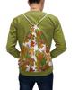 """Рюкзак-мешок с полной запечаткой """"Золотая осень"""" - листья, осень, орнамент, природа, мехенди"""