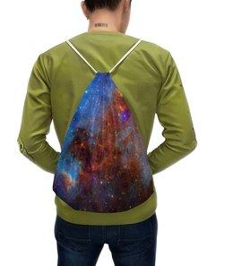 """Рюкзак-мешок с полной запечаткой """"В космос"""" - звезды, космос, небо, млечный путь, галактика"""