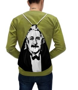"""Рюкзак с полной запечаткой """"Эйнштейн"""" - одежда космос, футболка космос, космос, звезды, вселенная"""