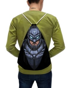 "Рюкзак с полной запечаткой ""Batman / Бэтмен"" - бэтмен, batman, темный рыцарь, the dark knight, joker"