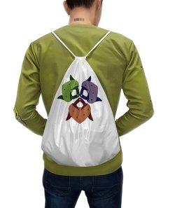 """Рюкзак-мешок с полной запечаткой """"Клубника"""" - любовь, клубничка, классическая"""