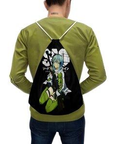 """Рюкзак-мешок с полной запечаткой """"Sword Art Online"""" - аниме, sword art online, sao, мастер меча онлайн, синон"""