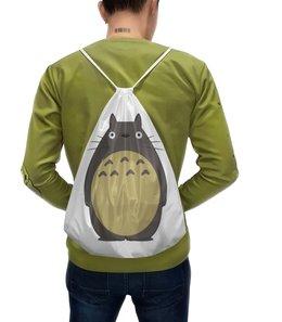 """Рюкзак-мешок с полной запечаткой """"Тоторо"""" - аниме, тоторо"""