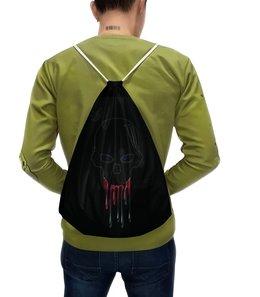 """Рюкзак-мешок с полной запечаткой """"Черепок"""" - череп"""