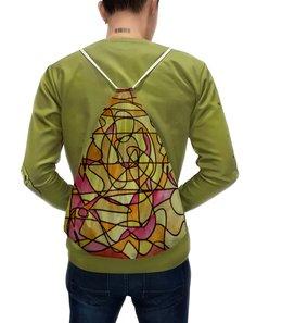 """Рюкзак с полной запечаткой """"bdbd--;12"""" - арт, узор, абстракция, фигуры, текстура"""