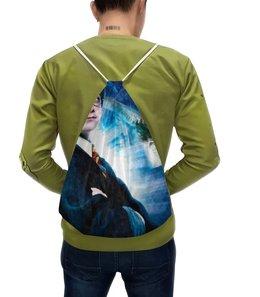 """Рюкзак-мешок с полной запечаткой """"Гарри Поттер"""" - кино, сова, волшебник, маг, хогвардс"""