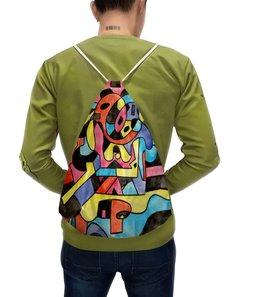 """Рюкзак с полной запечаткой """"ttt`12ll"""" - арт, узор, абстракция, фигуры, текстура"""