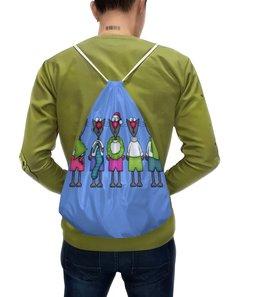 """Рюкзак с полной запечаткой """"Новогодние коты"""" - коты, праздник, елка, рождество, новый год"""