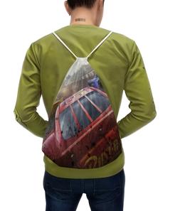 """Рюкзак с полной запечаткой """"Тачки"""" - мультфильм, дисней, машина, тачки, молния"""