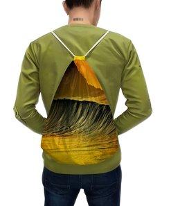 """Рюкзак с полной запечаткой """"Волны моря"""" - море, краски, природа, пейзаж, волны"""