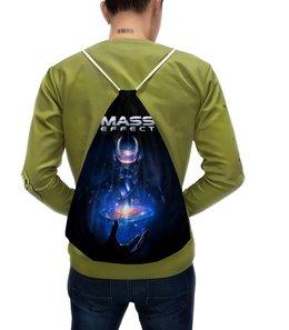"""Рюкзак-мешок с полной запечаткой """"Mass Effect"""" - компьютерные игры, mass effect, n7, масс эффект, геймерские"""