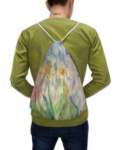 """Рюкзак с полной запечаткой """"Рюкзак «Watercolor"""""""" - цветы, дизайн, подарок, акварель, watercolor"""