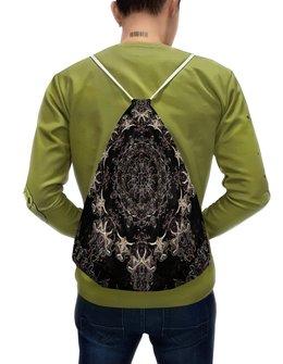 """Рюкзак-мешок с полной запечаткой """"Ключ 1"""" - праздник, черный, подарок, мандала, путешествие"""