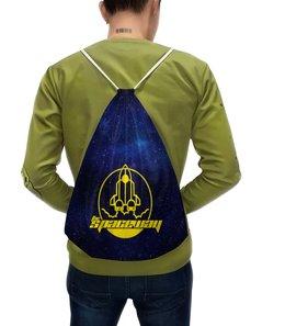 """Рюкзак с полной запечаткой """"The Spaceway"""" - одежда космос, футболка космос, космос, звезды, вселенная"""