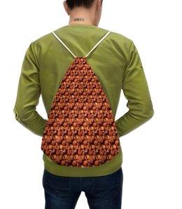 """Рюкзак с полной запечаткой """"Дикая малина"""" - красный, ягоды, малина, сладкий, аромат"""
