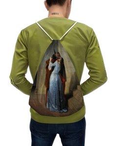 """Рюкзак с полной запечаткой """"Поцелуй (Франческо Айец)"""" - картина, айец"""