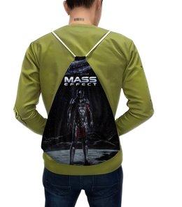 """Рюкзак с полной запечаткой """"Mass Effect"""" - mass effect, компьютерные игры, геймерские, масс эффект, n7"""