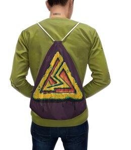 """Рюкзак-мешок с полной запечаткой """"Высокое напряжение"""" - молния, иллюстрация, электричество"""