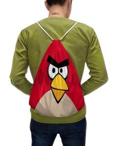 """Рюкзак с полной запечаткой """"Angry Birds (Terence)"""" - terence, angry birds, птички, компьютерная игра, мультфильм"""