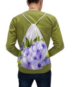 """Рюкзак с полной запечаткой """"Цветы"""" - цветы"""