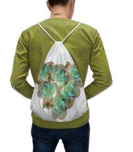 """Рюкзак-мешок с полной запечаткой """"Холодное сердце """" - сердце, цветы, розы, пастель, букет"""