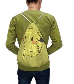 """Рюкзак с полной запечаткой """"Pokemon Pikachu / Покемон Пикачу"""" - пикачу, покемон, pokemon, pikachu, аниме"""