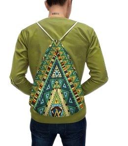 """Рюкзак с полной запечаткой """"Орнамент"""" - орнамент, узор, этнический, этно"""