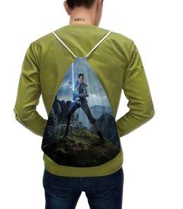 """Рюкзак-мешок с полной запечаткой """"Звездные войны - Рей"""" - кино, фантастика, star wars, звездные войны, дарт вейдер"""