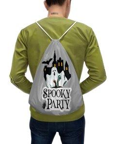 """Рюкзак с полной запечаткой """"Хэллоуин"""" - хэллоуин, привидение"""