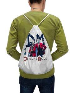 "Рюкзак с полной запечаткой ""Dave Gahan-Martin Gore 3"" - depeche mode, dave gahan, martin gore, gahan, depeche spirit"