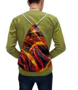 """Рюкзак с полной запечаткой """"Пожар"""" - огонь, краски, пламя, огненный, пожар"""