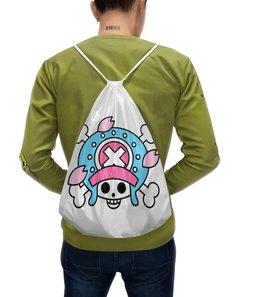 """Рюкзак-мешок с полной запечаткой """"One Piece"""" - аниме, манга, ван пис, one piece, тони тони чоппер"""