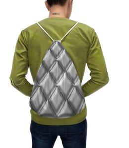 """Рюкзак-мешок с полной запечаткой """"Ромбы"""" - классика, ромб"""