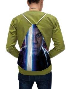 """Рюкзак-мешок с полной запечаткой """"Звездные войны - Финн"""" - кино, фантастика, star wars, звездные войны, дарт вейдер"""